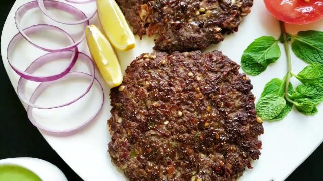 Burger Patty Peshawari
