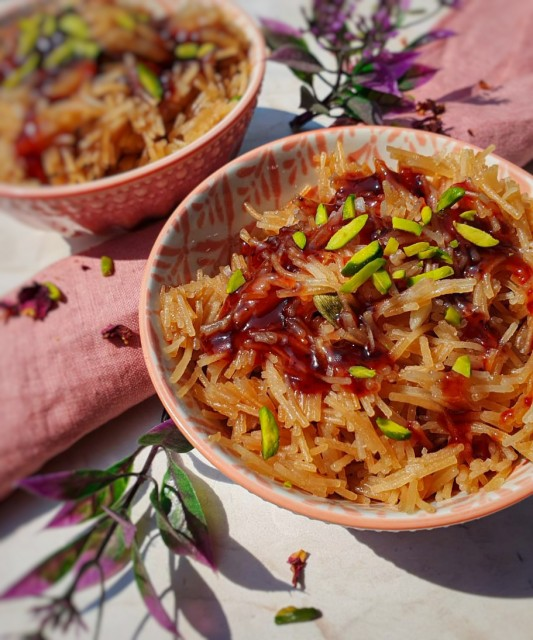 Sweet Vermicelli With A Twist
