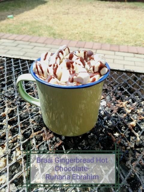 Braai Gingerbread Hot Chocolate