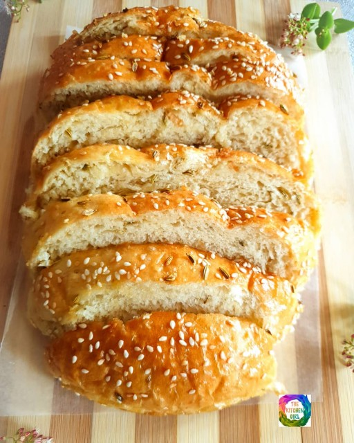 Baked Naan Bread