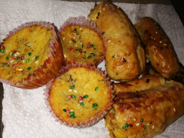 Sweet Corn And Spinash Filling