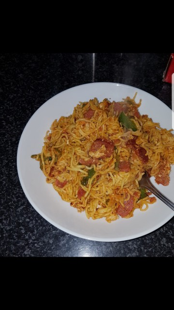 Spicy Masala Noodles