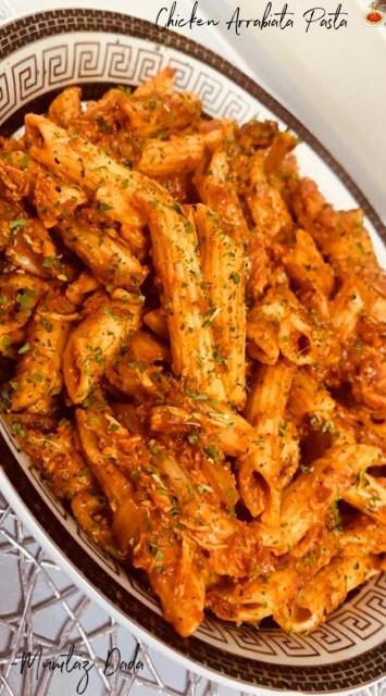 Chicken Arrabiata Pasta