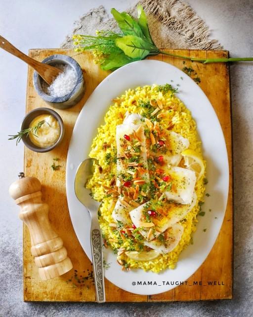 Sayadieh (hake & Rice)