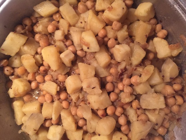 Moroccan Chickpeas And Sweet Potato