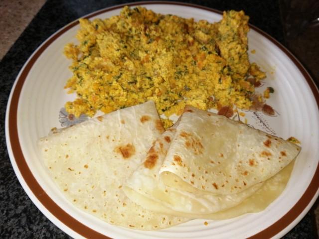 Methi Bhaji Egg