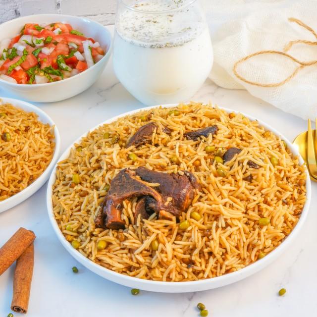Kichiri (afghan Mung Bean Rice Dish)