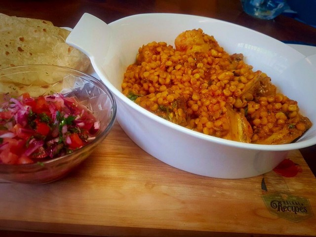 Chana Dhal And Chicken / My Version