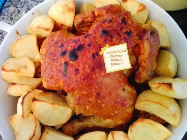 Saffron Roast Chicken