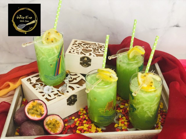 Melon And Passionfruit Moctail