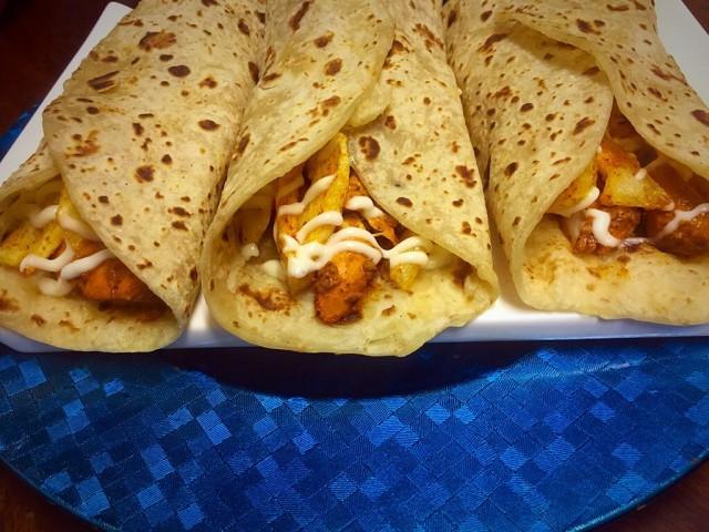 Chicken Roti Wraps My Recipe Recipe By Mrs Admin Mashuda