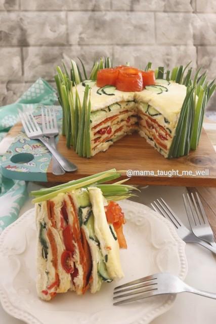 Savoury Sandwich Cake