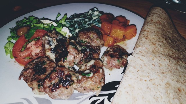 Chicken Lemon Butter Kabaabs