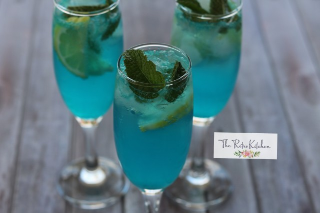 Electric Blue Drink 🍹