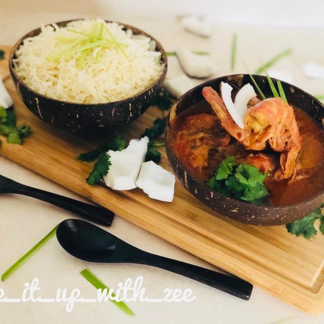 Thai Red Curry Paste Prawns