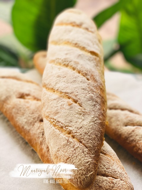 Home Made Baguette Bread