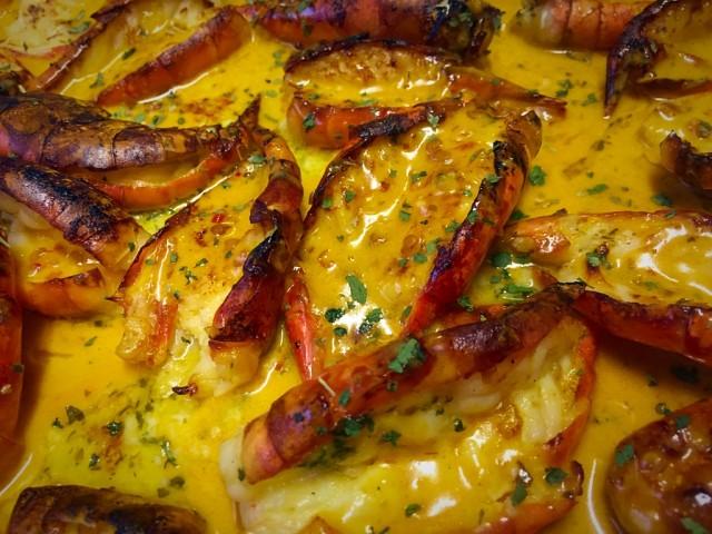 Oven Grilled Super Yum Prawns / My Recipe