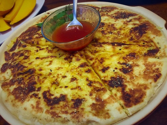 Yeast Dough Alloo Cheese  Paratha / My Recipe
