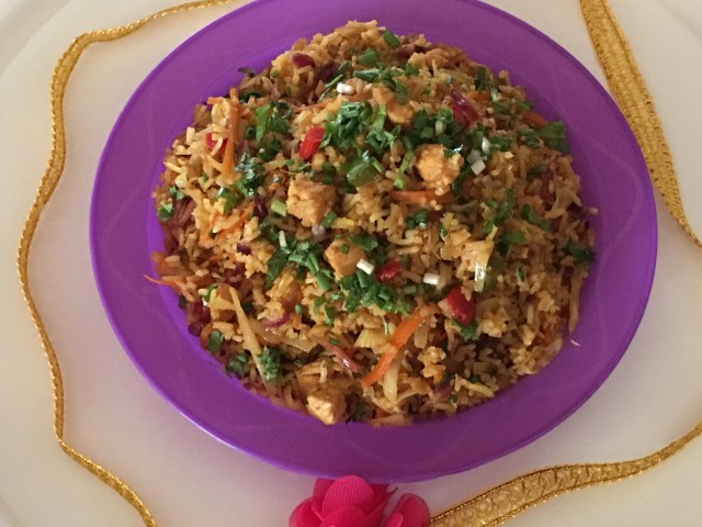 Sweet & Sour Fried Rice