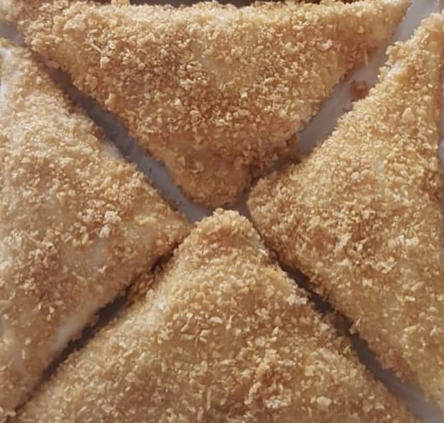 Hightech Cheesy Asparagus Samosas