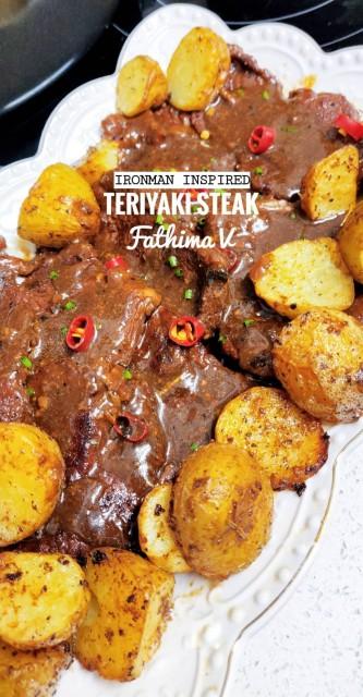 Iron Man Inspired Teriyaki Steak