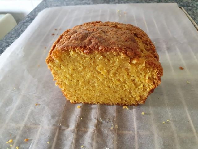 Eggless & Butterless Mango Loaf