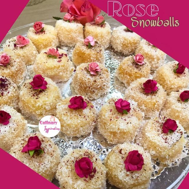 Rose Snowballs