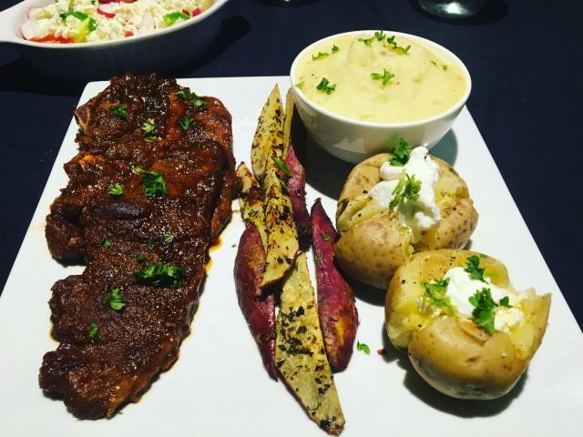 Mozerella Paprika Steak
