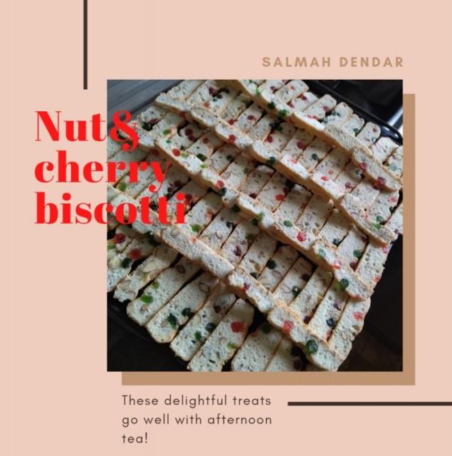 Nut And Cherry Biscotti