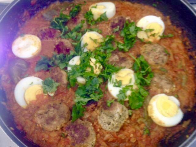 Chicken Kebab In Tomato Khutney |my Recipe