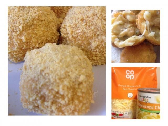 Macaroni/chicken Cheeseballs