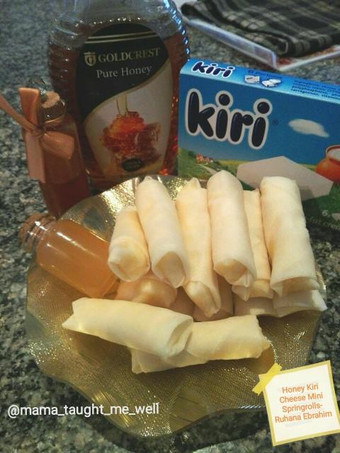 Honey Kiri Cheese Mini Springrolls