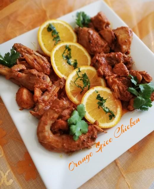 Orange Spice Chicken