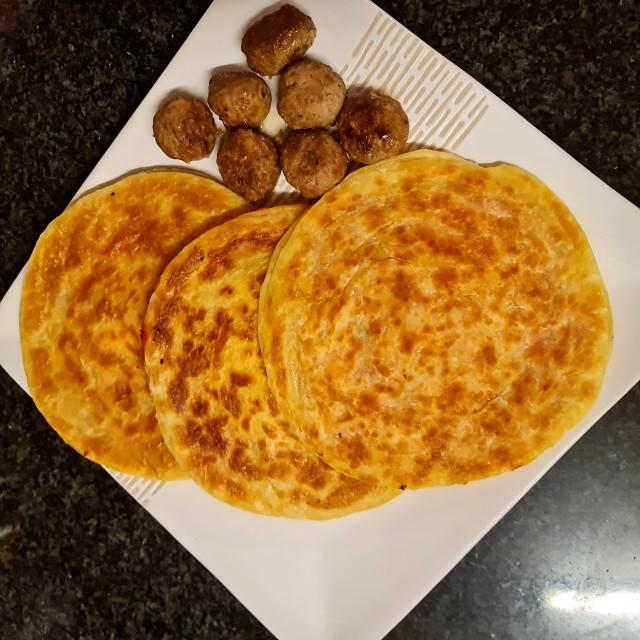 Cheesey Aloo Paratha