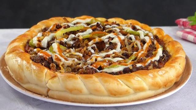 Bakers Beef Pizza