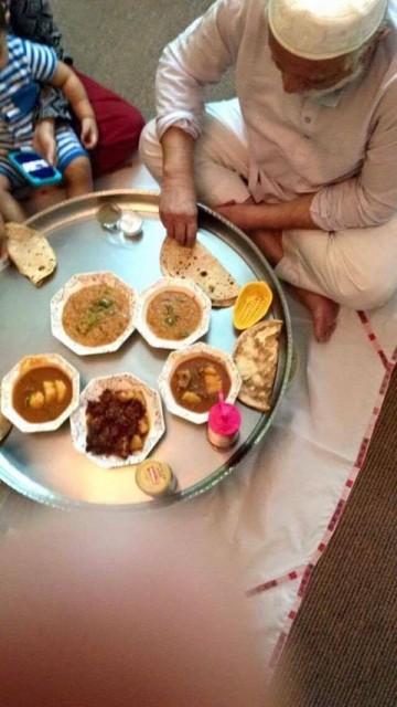 Aam Ras & Bhuna Gosht Mutton Qorma Masala Rice
