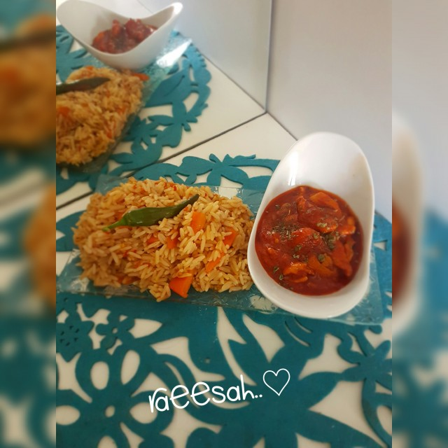 Chinese Chillie Chicken & Chinese Fried Rice