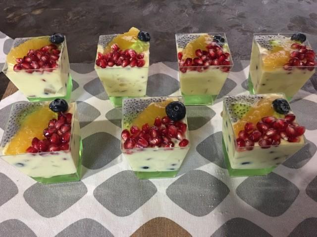 Fruity Custard Dessert