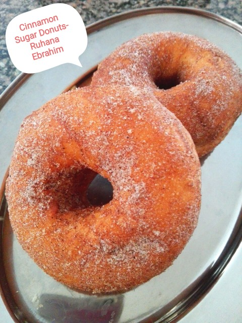 Cinnamon Sugar Ring Donuts (yeast Free)