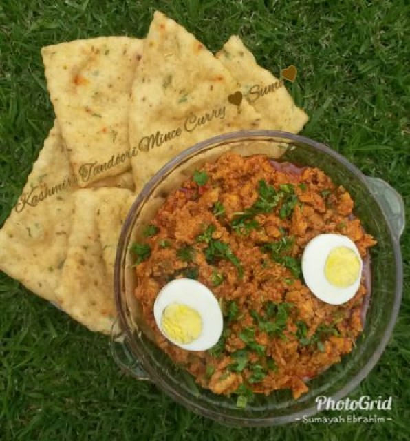 Kashmiri Tandoori Mince Curry