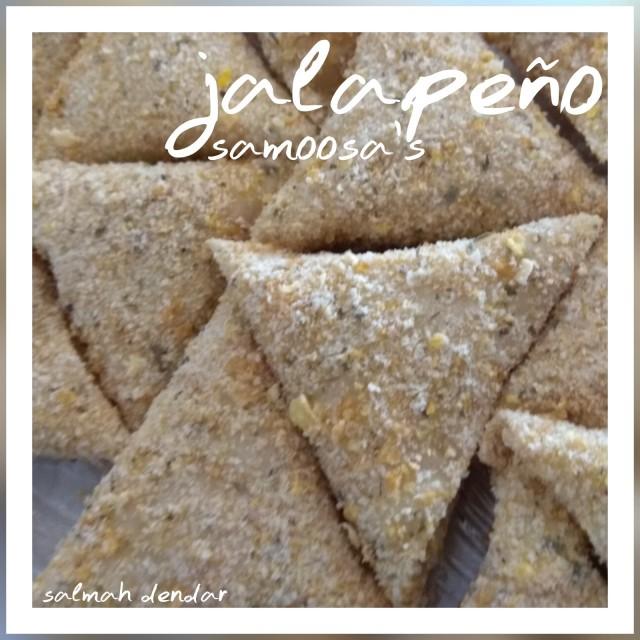 Jalapeño & Cheese Samosas
