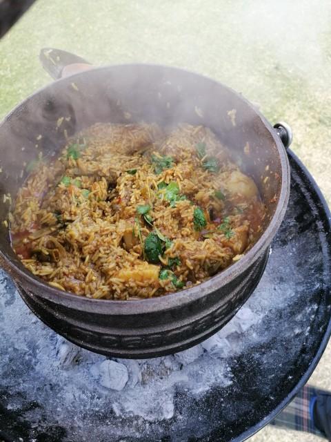 Mutton Akni Potjie Pot