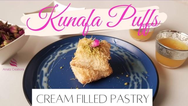 Kunafa Puffs