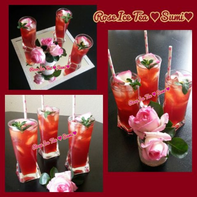 Rose Ice Tea