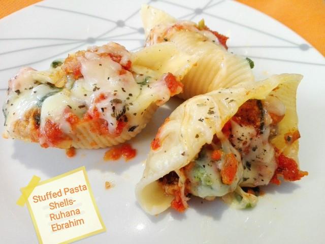 Ruhana's Stuffed Pasta Shells