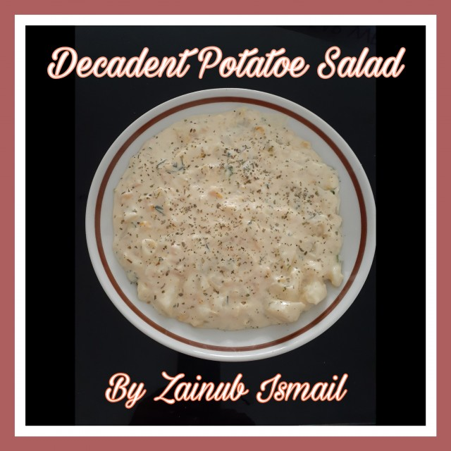 Decadent Potatoe Salad