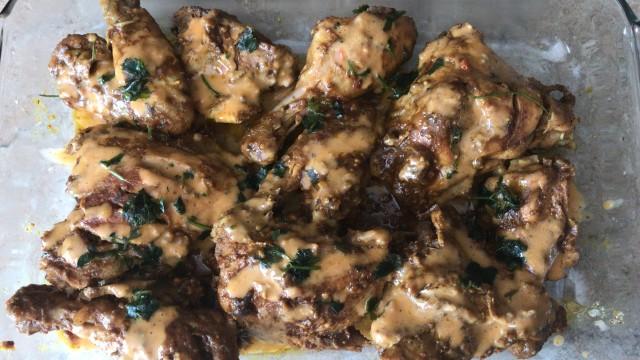 Saucy Chicken Tikka