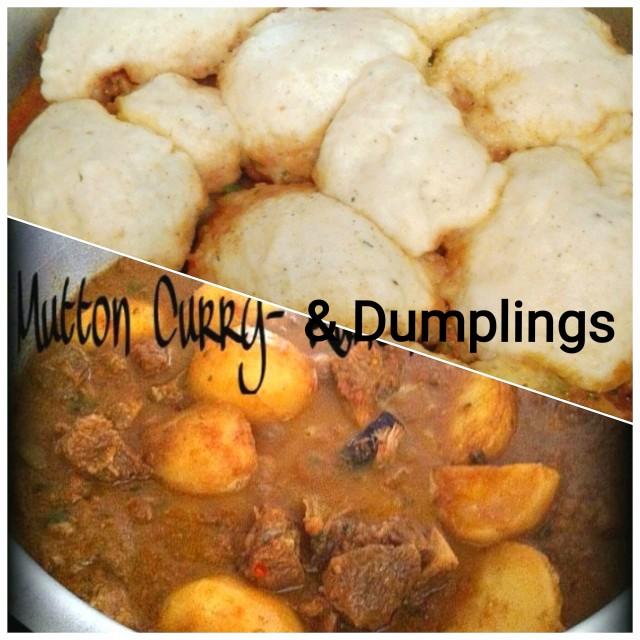 Mutton Curry & Dumplings