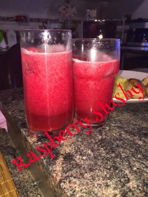 Raspberry Slushy
