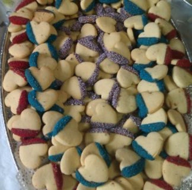 Shortcake Loveheart Biscuits